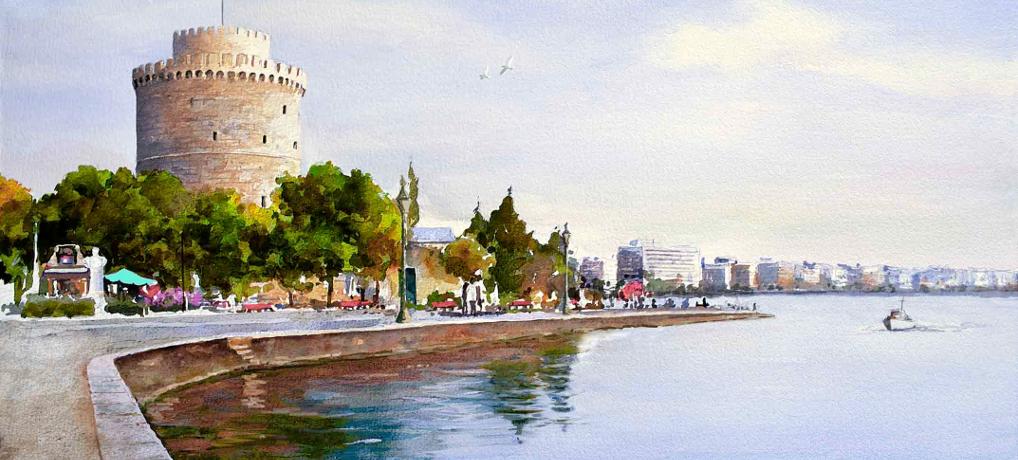 Βασική εκπαίδευση στη Θεσσαλονίκη